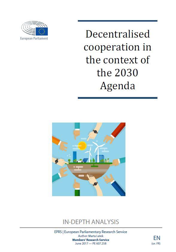 Cooperación Descentralizada en el contexto de la Agenda 2030