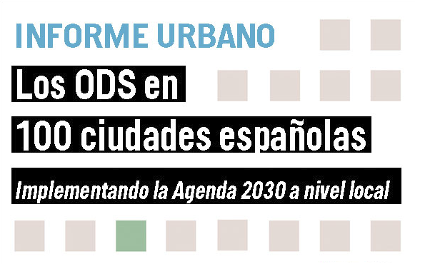 picture on the Report on the SDGs progress in 100 Spanish cities