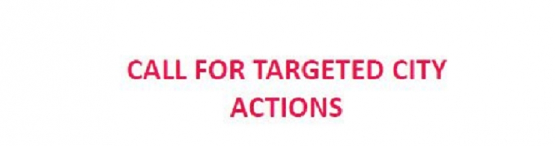 call for targeted city actions portada