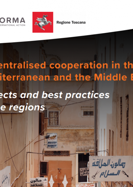 Image of the Publication 'Decentralised cooperation in the Mediterranean and the Middle East '