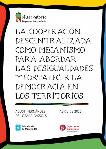 Cooperación descentralizada como mecanismo para abordar las desigualdades