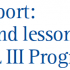 Final report: Scope and lessons of the URB – AL III Programme